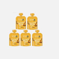 【包邮包税】英国直邮Ella's  Kitchen有机黄色果泥90G (5包装)