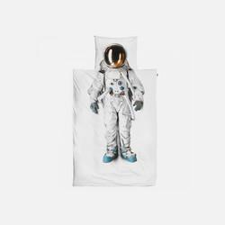 【荷兰直邮&免税包邮】荷兰Snurk宇航员纯棉儿童学生单人被套枕套组(单件装)