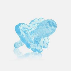 美国直邮RAZ BABY天蓝色莓果 硅胶牙胶