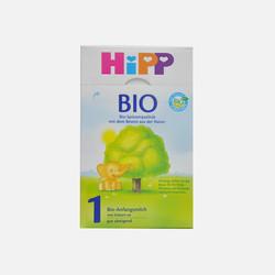 【包邮包税6盒装】德国直邮喜宝HIPP有机奶粉1段600g