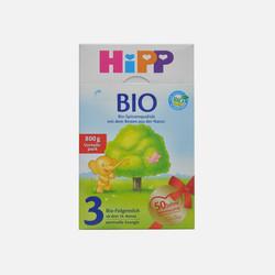 【包邮包税8盒装】德国直邮喜宝HIPP有机奶粉3段800g