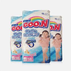 【包邮包税 3包装】日本大王GOO.N拉拉裤(女) XL38