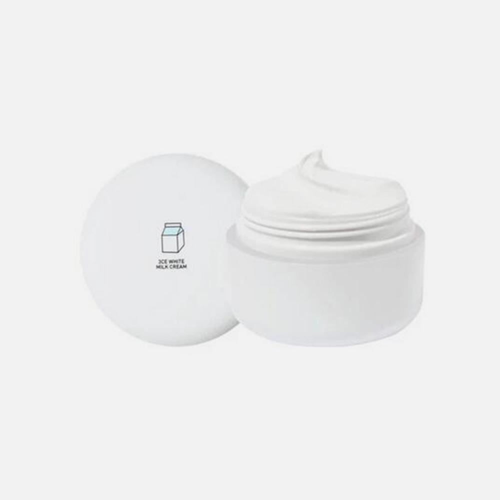 韩国直邮【包邮包税】3ce新品牛奶霜素颜霜【正品