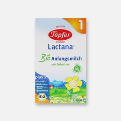 【包邮包税】德国直邮特福芬Topfer 有机奶粉1段(0-6个月)600g