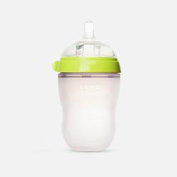 【包邮包税】美国可么多么Comotomo 硅胶奶瓶 绿色款(250ml)/瓶大单绿