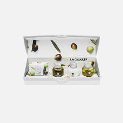 【荷兰直邮&免税包邮】La Chinata希那塔洗护套装礼盒(30ml沐浴露+30ml洗发水+30ml身体乳+20g肥皂)