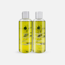 【荷兰直邮&免税包邮】La Chinata希那塔橄榄油沐浴露+橄榄油洗发水洗护套装