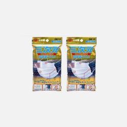【包邮包税2包装】日本KOWA三次元高密着口罩PM2.5防尘防雾霾5枚 男款