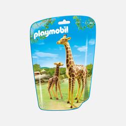 新加坡直邮【包邮包税】摩比Playmobil 长颈鹿和长颈鹿宝宝