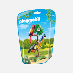 新加坡直邮【包邮包税】摩比Playmobil 热带鸟