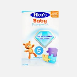 香港直邮【包邮包税】荷兰Hero Baby美素奶粉5段(2周岁以上宝宝)700g