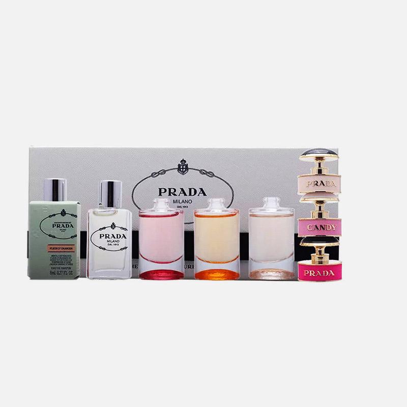 PRADA 普拉达 女士香水小样5瓶套装礼盒