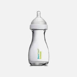 美国直邮【包邮包税】Bornfree 宽口径防胀气玻璃奶瓶 单只装 9oz/266ml