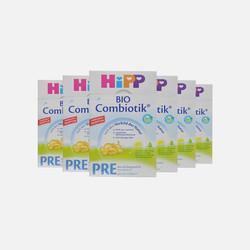 【包邮包税4盒装】德国直邮喜宝HIPP益生菌奶粉pre段600g