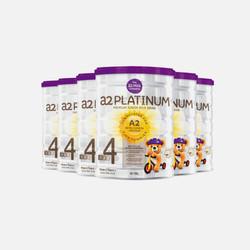 澳洲直邮【包邮包税】A2白金 婴幼儿奶粉4段900g*6罐(有效期至2019.06月)